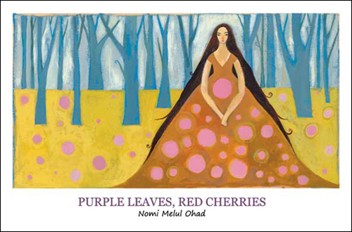 Body PurpleLeavesRedCherries