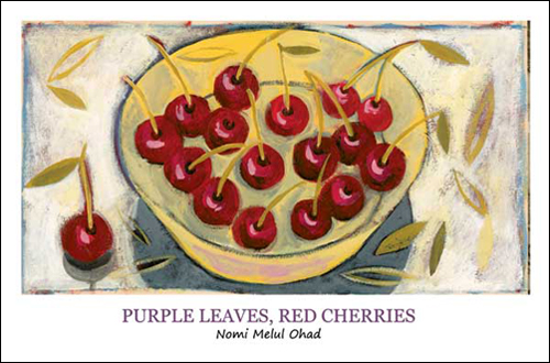 Love PurpleLeavesRedCherries
