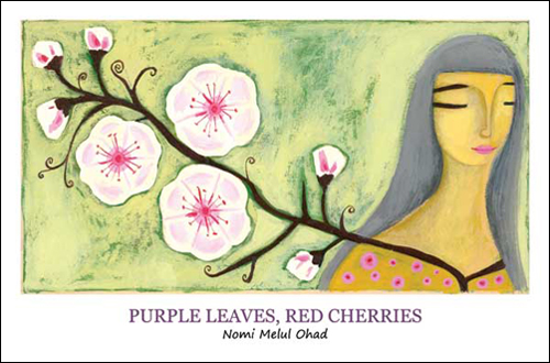 WiseWoman PurpleLeavesRedCherries