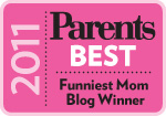 funniest mom blog winner